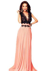 Vestito-da-donna-lungo-abito-vestitino-damigella-cerimonia-elegante-party-ballo