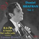 Daniel Shafran Vol 2 - Bach 6 Suites for Cello Solo CD