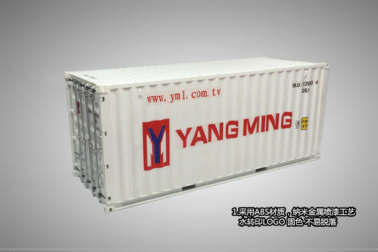 1 20 Shipping container Yangming model(this cheap for only two weeks)