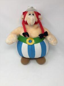 Large-Obelix-Parc-Asterix-Plush-Soft-Toy-HTF-Retro-90-s