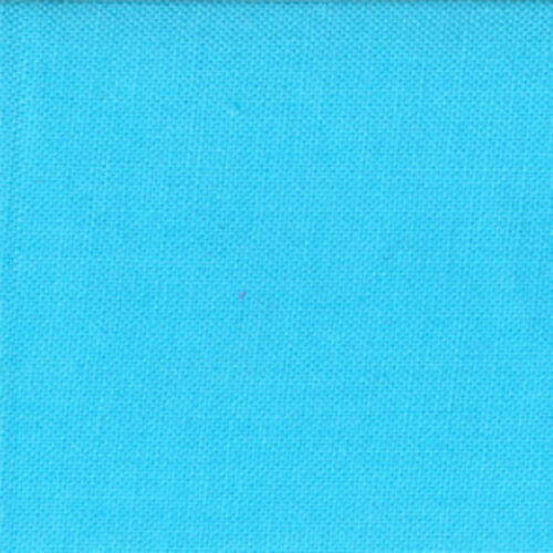 Moda Fabric Bella Solids Capri Blue Quilting Fabric Sold Per 1//4 Metre