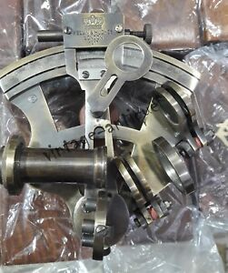 Solid-Brass-Sextant-Maritime-Marine-Working-Nautical-Sextant