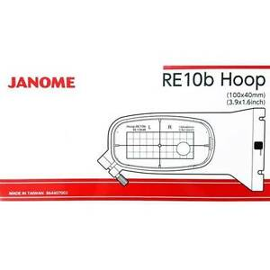 Janome-RE10b-Hoop-for-the-MC500E-Embroidery-Machine-100x40-NEW