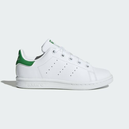 Adidas Original Preschool Stan Smith Shoes  NEW AUTHENTIC White//Green BA8375