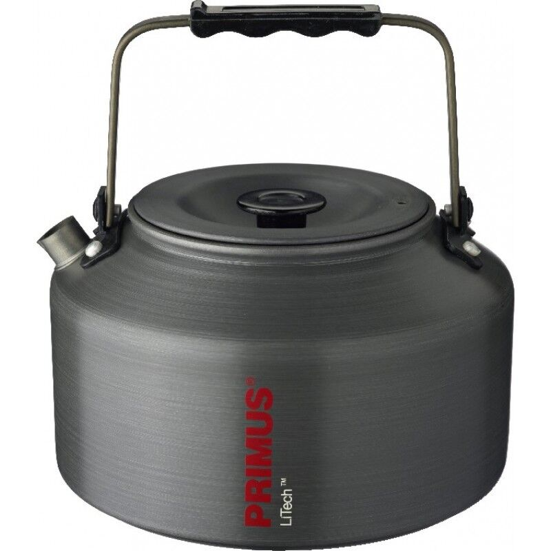 Primus Litech 1.5 Litre Hard Anodised Camping Kettle with Folding Handle