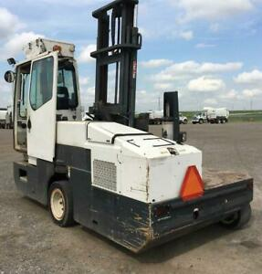 2006 Combi Lift CL5000 - narrow aisle MULTI DIRECTIONAL Diesel Forklift - 3100 Hours Canada Preview