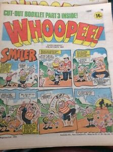 A3a  Whoopee And Cheeky Comic October 17th 1981