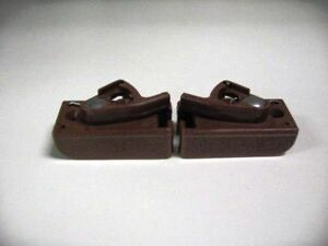 Baby Crib Hardware-Lower Spring Guides(Pair)
