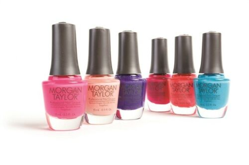 Morgan Taylor Nail Polish Lacquer Color 15ml Choose Your Colour Collection