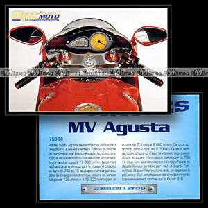 Mv Agusta 750 F4 - Sport Bike Fiche Moto #om1.39 1mf9rndk-07234822-647984251