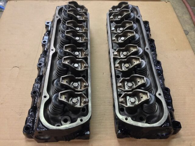 Ford Gt40p 302 V8 Small Block Engine Cylinder Heads Bare Castings F77E  Mustang