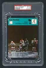 PSA 8 MAJOR and MINOR PENALTIES Sportscaster Hockey Card #43-04