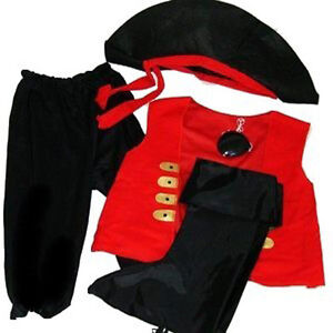 5pc-Pirate-Boys-Halloween-Costume-Ages-3-4-5-Dress-Up