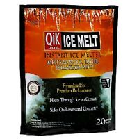 Case Of Five Bags = 10lb Bags Qik Joe 30510 Ice Melt 674454 X5