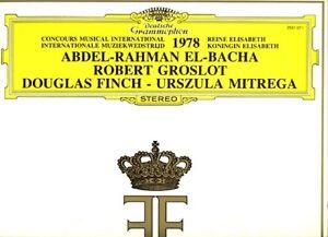 Piano Recital El-Bacha Groslot Finch Mitrega Queen Elizabeth competition 1978 - Nordrhein - Westfalen, Deutschland - Piano Recital El-Bacha Groslot Finch Mitrega Queen Elizabeth competition 1978 - Nordrhein - Westfalen, Deutschland