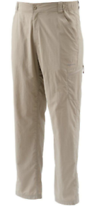 NWT Simms Mens Superlight Mineral Fishing Pants MULTIPLE SIZES MSRP $69.99