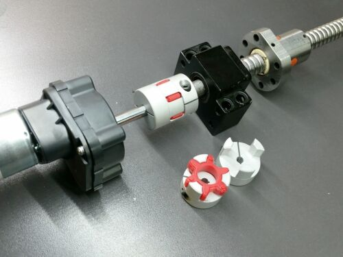6 x 6mm Flexible Jaw Shaft Coupling CNC Stepper Motor Coupler Zero Backlash 3D