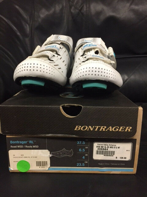 NEW spin shoes Trek  Bontrager RL road women 37.5 with carbon sole  hot sports