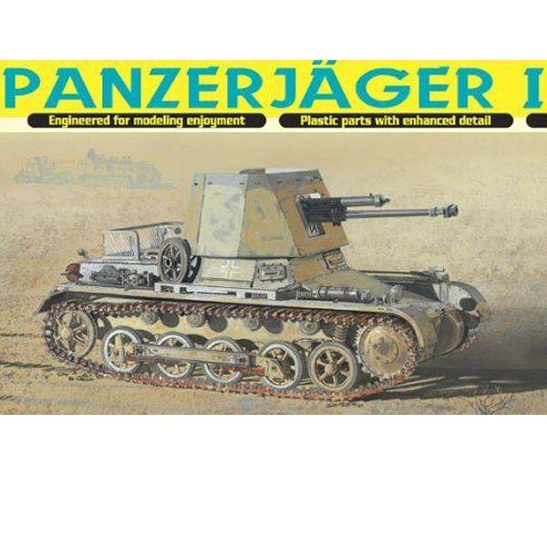 Dragon 6230 Panzerjager I 4.7 cm PaK(t) 1 35 scale plastic model kit