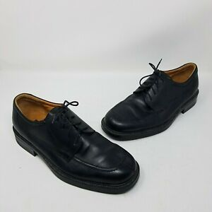 Bill Blass Italy Evans Black Leather