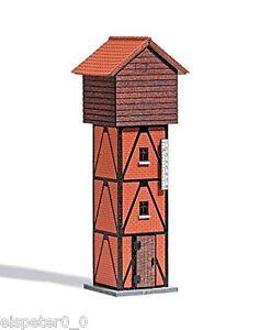 Busch-1427-Wasserturm-H0-Modellwelten-Gebaude-Bausatz-1-87