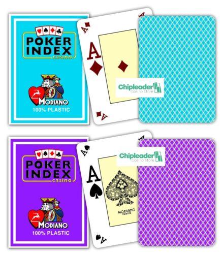 Modiano pro poker índice naipes Texas Holdem sociedad juego Omaha