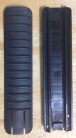 Black 3 pack ERGO Riblock Locking Picatinny Rail Cover 16 Slot Polymer LowPro