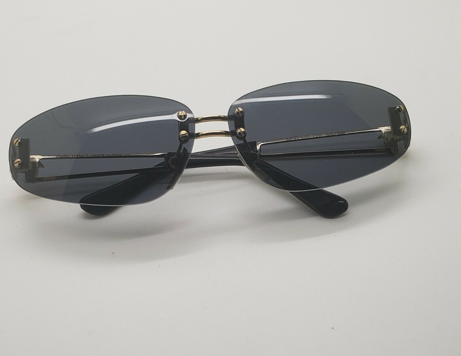 DeadStock Vintage Gianni Versace X53 Sunglasses B… - image 1