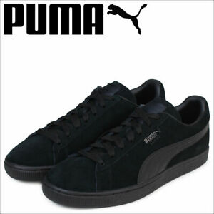 newest collection 281cc 32fda Details about Puma Classic Suede LFS 35632801 All Black Mens Womens Casual  Shoesa All Sizes