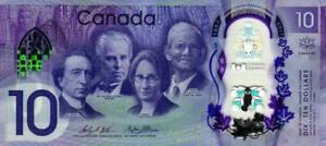 02 Canada / Kanada P112 10 Dollars 2017 Unc Reines Und Mildes Aroma