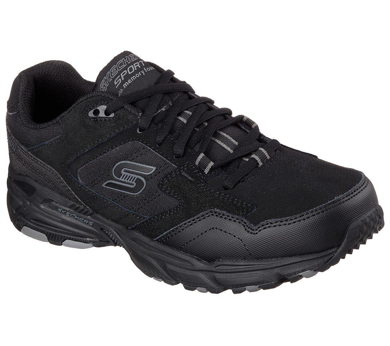 Mens Skechers Stamina Plus 50959 BBK #BR
