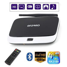Quad Core Android 4.4 Smart TV Box Player HDMI WiFi 1080P 2GB 8GB CS918 FT