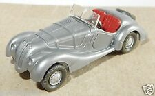 MICRO WIKING HO 1/87 BMW 328 CABRIOLET GRIS ARGENT no box