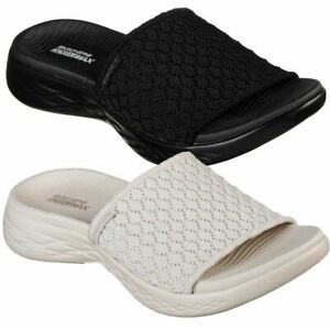 skechers slide sandals