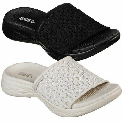 Skechers Performance Women S On The Go 600 Stellar Slide Sandal Ebay