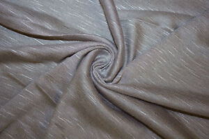 db9ecf03724 Details about Light Gray Jersey Knit Slub 97% Rayon 3% Spandex Lycra  Stretch Fabric BTY