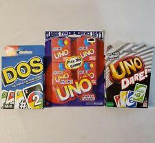 Mattel Uno Dare Card Game For Sale Online Ebay