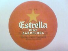 ESTRELLA Damm BARCELONA  SPAIN - Beermat / Coaster  - 2 sided