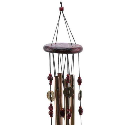 Solid Wood Wind Chimes Home Fashion Gift Blessing Room Anti-rust Wind Chimes HO3