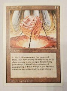 Mana Vault  - Revised - Near Mint - GORGEOUS CARD, MTG