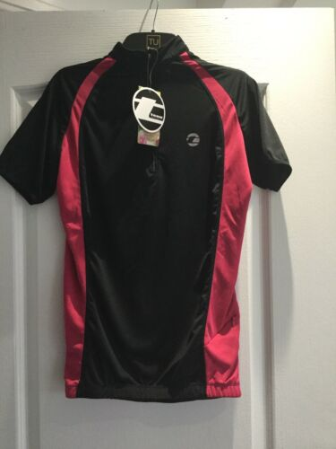 10 Quality Top Taglia Performance Cycling Bnwt Sports Pink Black Ladies Tenn Da XqfwPq7
