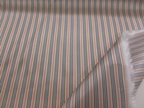 "60/"" Wide, Silky Golden Striped Viscose Italian Jacket,Suit,Dress Lining Fabric"