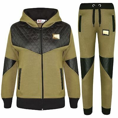 Acquista A Buon Mercato Kids Tracksuit Boys Girls Designer's A2z Project Zipped Top Bottom Jogging Suits
