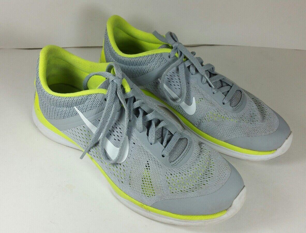Nike Training In Season 5 Women's Grey/Neon Green Running Shoes US 9.5  Seasonal clearance sale