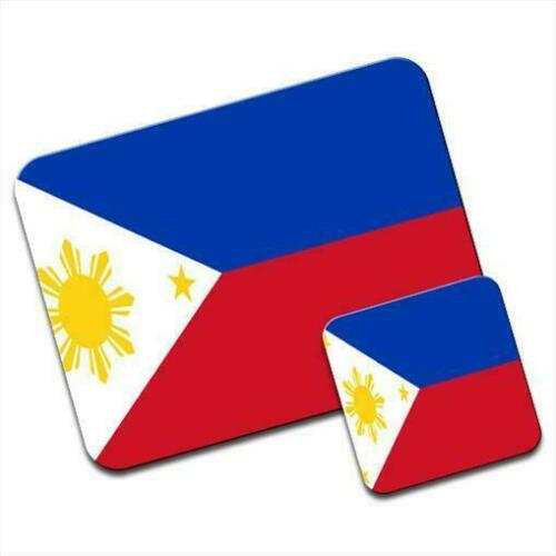 Pad /& Coaster Philippines Flag Mouse Mat