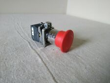 Telemecanique Schneider Red Push Pull Emergency Stop Button Zbe 202 Contactors