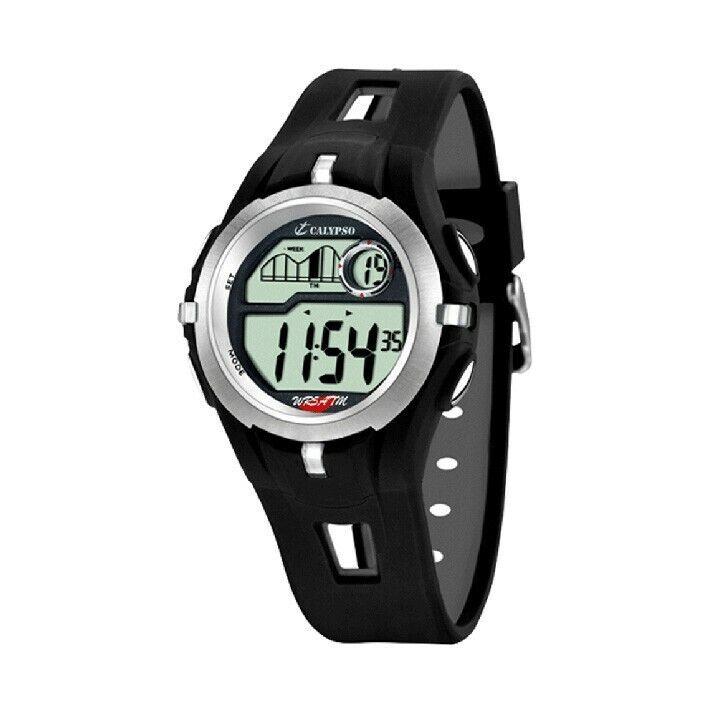 Reloj digital Calypso hombre K5511/1 caucho negro diámetro 42.5 mm