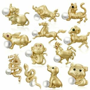 Fashion-Lovely-12-Chinese-Zodiac-Animal-Pearl-Brooch-Pin-Women-Costume-Jewelry