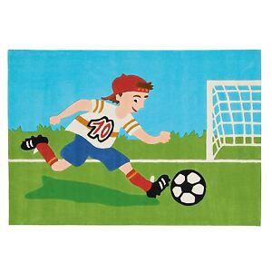 Arte-Espina-Tappeto-Intrecciato-a-Mano-034-4090-53-Joy-Pallone-da-Calcio-Bambini-034