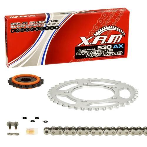 XAM Extra Renforcé Silent kettensatz YAMAHA FZS 1000 Fazer//S 01-05 rn06 rn14